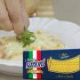 Lasanha Sarloni com milho e manjericão
