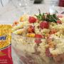 Salada de macarrão Sarloni com lentilha