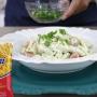Salada refrescante com penne Sarloni