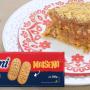 Pavê de paçoca com biscoito maisena Sarloni