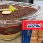 Torta bombom de uva com biscoito maisena Sarloni