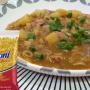 Sopa de macarrão argolinha Sarloni com feijão