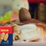 Pavê de chocolate com biscoito maisena Sarloni